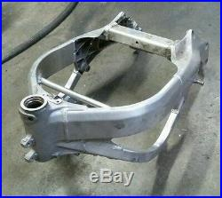 01-06 Honda CBR 600 F4i Straight Main Frame Chassis Clean Stunt Race Bare CBR600