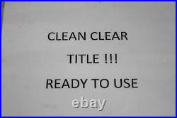 01-06 Honda CBR600 600 F4i Main Frame Chassis CLN T EZ REG 50100-MBW-A10ZA