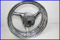 01-06 Honda CBR600 600 F4i Rear Front Rim Wheel Chrome Set