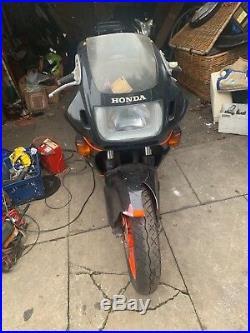 1988 honda CBR600 F-J motorcycle