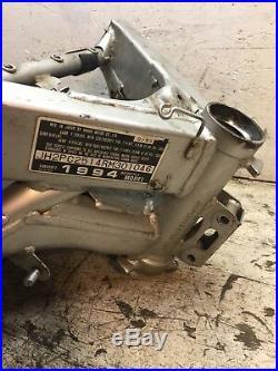 1994 91 92 93 HONDA CBR 600 F2 MAIN FRAME CHASSIS Clean Clear EZ Register NECK