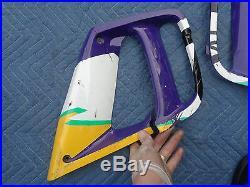 1996 CBR 600 f3 OEM fairing left right bodywork service access door cbr600 95 96