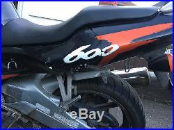 1997 honda cbr600 f3 black/orange only 18k from new