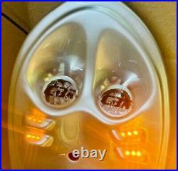 2 ROWS OF LEDS GLOSS SILVER HONDA CBR600 F4i 2001-03 UNDERTAIL-NEW
