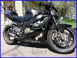 2001 2006 Honda CBR 600 F4i exhaust RLS Exhaust Chaos Series black