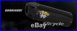 2001-2007 CBR600 F4i Two Brothers Hurricane Carbon Fiber Slip On Exhaust Honda