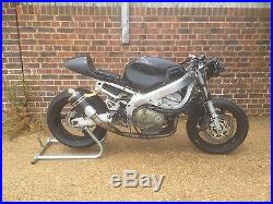 2001 Honda Cbr 600f cafe racer/track bike/street fighter project. Very low miles