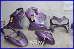 2001 Honda Cbr600f4i Cbr 600 F4i Aftermarket Fairing Set Cowls Cowlings Kit Zxmt