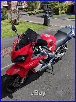 2002/02 REG HONDA CBR600F F4i, CBR 600, 26600 MILES, FULL MOT MAY 19