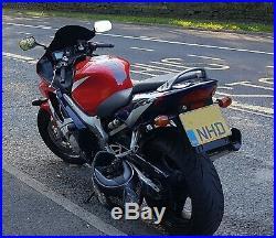 2002 Honda CBR600F F2 599cc