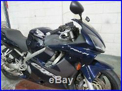 2003 Honda Cbr600f Cbr 600 Blue Low Mileage Nationwide Delivery Available