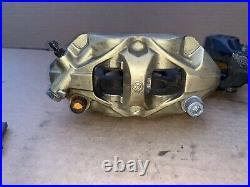 2004 2005 2006 Honda CBR600F4I Rear Brake Dual Caliper Bracket Stunt BREMBO