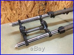 99 00 1999 2000 Honda Cbr600 Cbr 600 F4 Front Forks Fork Tubes Front End No Leak