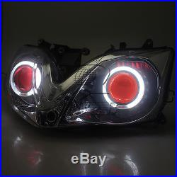 Assembled Headlight Angel Devil Eye Projector HID for Honda CBR600 F4i 01-2007