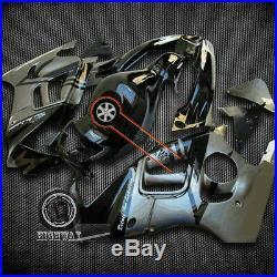 Black Gray ABS Fairing Bodywork For Honda CBR600 F2 CBR600F2 1991-1994 92 93 uu