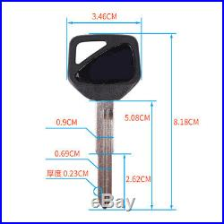Blank key Fits Honda CBR 600 F4i 929 954 CBR 1000RR CBR1100XX VFR800 #m27