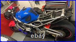 CBR 600 F3 Steelie Steel frame track bike 1998