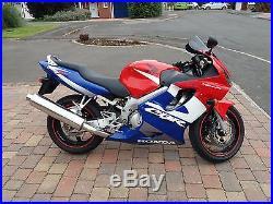 CBR 600F F4i F1 2001 Red White Blue
