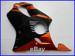 CN Orange Black Fairing Bodywork Injection Kit For Honda CBR600 F4i 01-03 2002