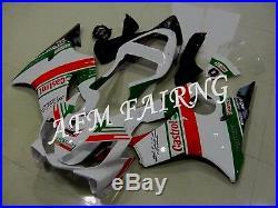Castrol ABS Injection Mold Bodywork Fairing Kit for Honda CBR600 F4i 2001-2003