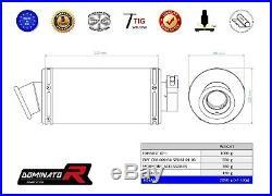 DOMINATOR Exhaust GP I HONDA CBR 600 F4i SPORT 01-06 + DB KILLER