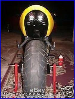 DUAL ROW GLOSS BLACK ABS PLASTIC HONDA CBR600 F4i 2001-03 UNDERTAIL -NEW