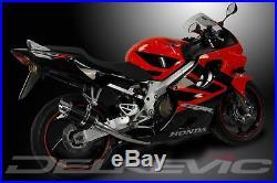 Delkevic 8 Carbon iber Round Muffler Honda CBR600F4 1999-2000 Exhaust