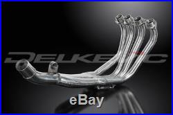 Delkevic Stainless Steel Header Exhaust Downpipes Honda CBR600F2 1991-1998