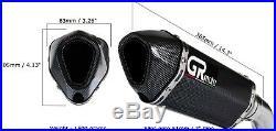 Exhaust for Honda CBR600 F4i 2001 2005 GRmoto Muffler Titanium