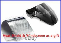 Fairing Injection Red with Black Plastic Kit for Honda 2001 2002 2003 CBR 600 F4i