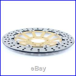 For Honda CBR 600 F FX FY SuperSport F4 99 00 Front Brake Discs Disks + Pads Set