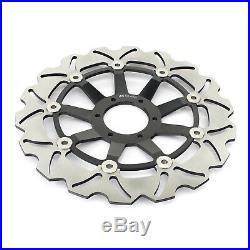 Front Brake Discs Disks & Pads For Honda CBR600F CBR 600 F4 SuperSport 1999 2000