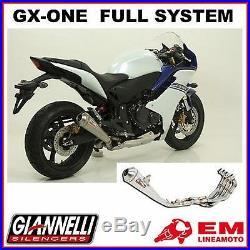 Full Exhaust System Auspuff Giannelli GX-ONE Honda CBR 600 F 2011/2012- 73402GXK