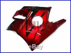 Full Fairings For Honda CBR600 F2 1991-1994 ABS Fairing Kit Bodywork Red Black B