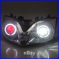 Fully Assembled Headlight Angel Devil Eye Projector for Honda CBR600 F4i 01-07