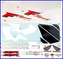 HONDA CBR 600 F4i SPORT 01-02 STICKER GRAPHICS KIT DECALS SET AUFKLEBER SET