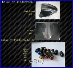 HONDA CBR600 F4i 01 06 GLASS FIBER RACE FAIRINGS SET TRACK FAIRING KIT FIBER