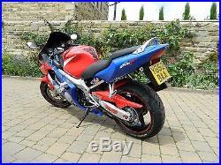 HONDA CBR600F 2001 reluctant sale