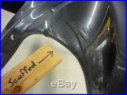 Honda 87-90 Cbr600f Cbr600 Hurricane Upper Headlight Fairing Cowl Plastic Oem