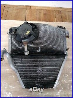 Honda CBR 600 CBR600 F4i Pace Products Race Oversize Large Radiator 01 to 06