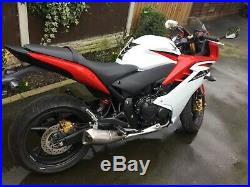 Honda CBR 600 F ABS Low Miles 3k 62 plate Motorcycle Red White