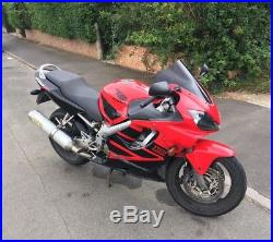 Honda CBR 600 F motorbike