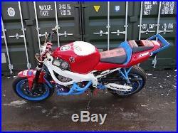 Honda CBR 600 F4I Stunt Bike