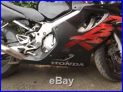 Honda CBR 600F Black, New MOT, New tyres, New battery, Service History
