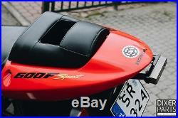 Honda CBR 600F F4i sport (01-02) Scrape bar with fat titanium 12 o'clock Stunt