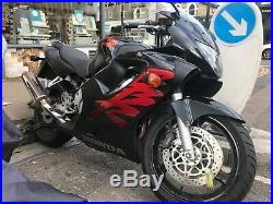 Honda CBR 600F- absolute steal. MOT'd yesterday and passed with flying colours