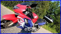 Honda CBR 600F with extras