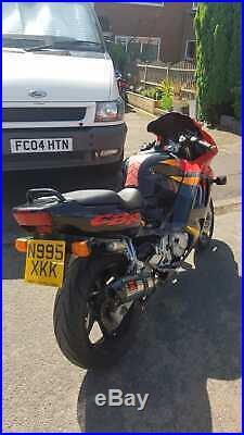 Honda CBR 600f motorcycle, motorbike