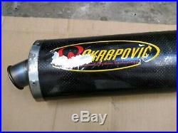 Honda CBR600 CBR 600 F4i Akrapovic Full Exhaust System 2001 to 2006