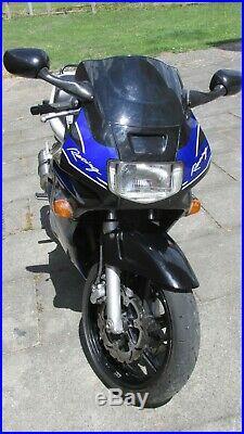 Honda CBR600 F2 600cc Classic Motorcycle ONLY 6066 miles MOT JULY 2021